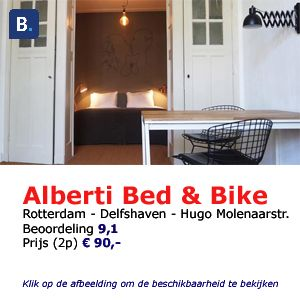 bed and breakfast rotterdam Alberti