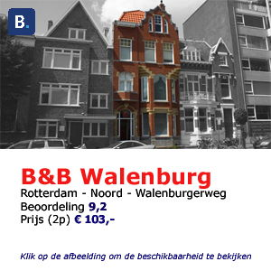 bed and breakfast rotterdam walenburg