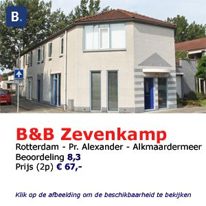bed and breakfast rotterdam Zevenkamp